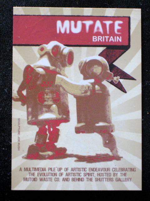 Mutate Britain Flyer