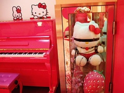 to the Japanese Love-hotels section and the reviews of the Hello Kitty!